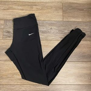 Nike Dri-Fit Athletic Black Leggings Sz S